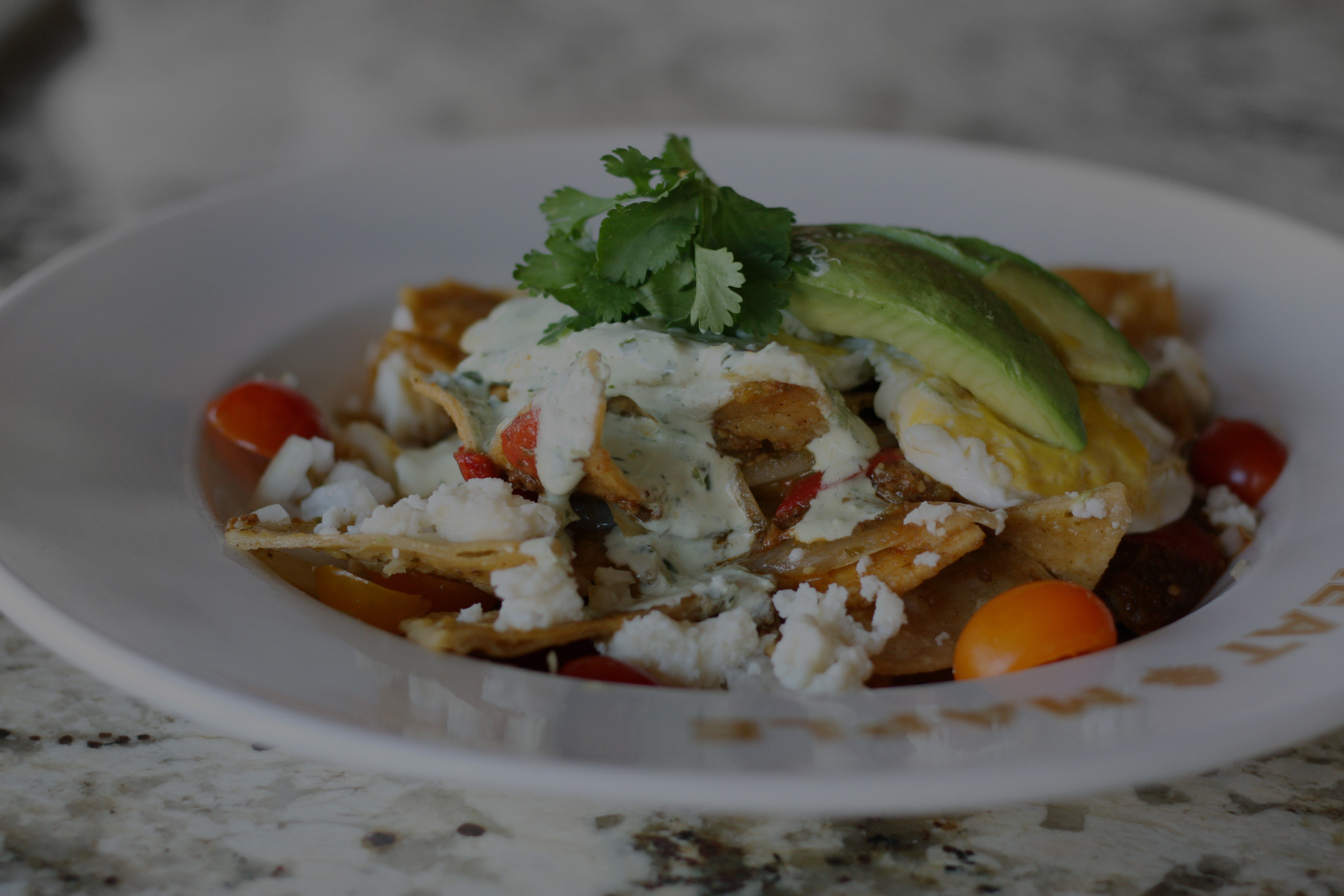 Brunch Menu - Chilaquiles