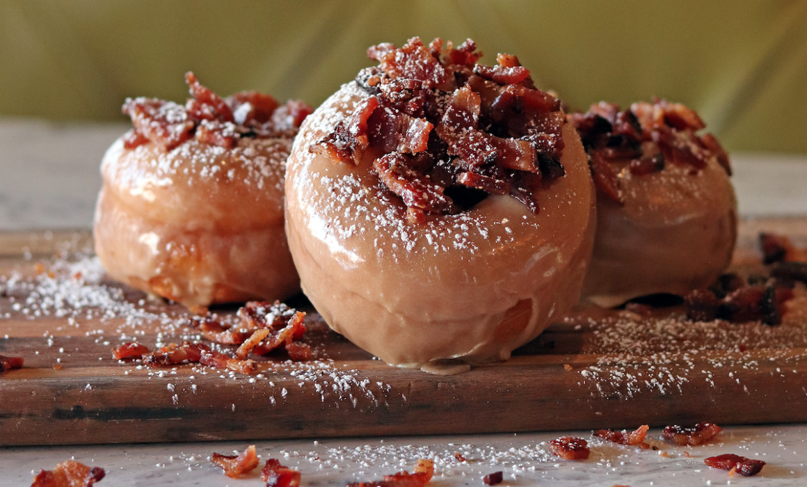 Maple Bacon Doughnuts